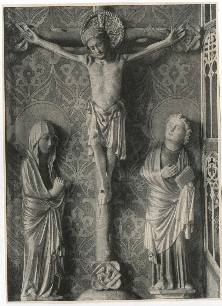 Anonimo , Meister Bertram - Hamburg, Kunsthalle - Christus am Kreuz