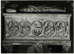 Gano di Fazio , Ritratto funebre di papa Gregorio X, Agnus Dei
