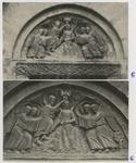 Anonimo aretino sec. XIII , Battesimo di Cristo e angeli