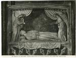 Arnolfo di Cambio, maniera , Giacente tra due angeli reggicortina