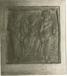 Anonimo sec. VI , Madonna con Bambino tra gli arcangeli Michele e Gabriele