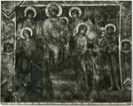 Cenni di Pepo , Madonna con Bambino in trono, san Francesco d'Assisi e angeli