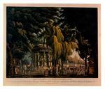 Sanquirico, Allessandro , Ameno boschetto con Tempio consacrato a Venere - Collezione varie decorazioni sceniche